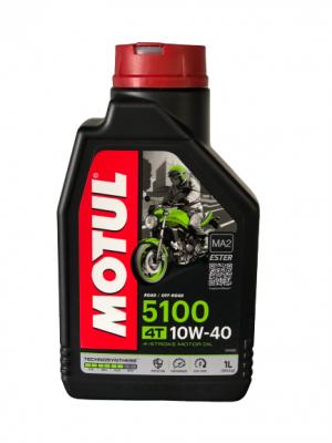 OLIO Motore MOTUL 10W40 5100 4T MOTO SCOOTER 1L