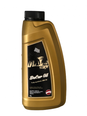 OLIO Motore DACAR OIL 0W30 Fully-synthetic 1L