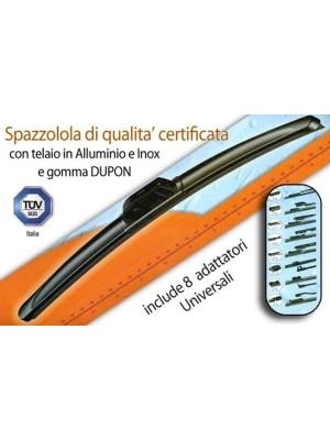 Spazzole Tergicristallo FLAT  6W600, mm. 600, NO RAIN