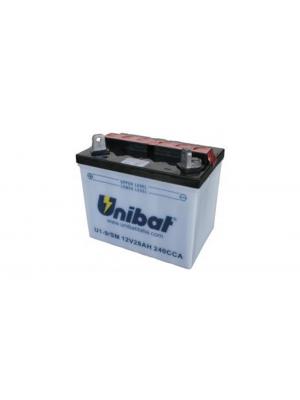 Batteria Moto Convenzionale U19-SM, 28 Ah, 235 A/EN Unibat