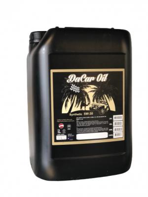 OLIO MOTORE DACAR OIL 5W30 Synthetic 20L