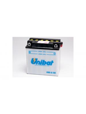 Batteria Convenzionale CB9-B-SM 130 A/EN 9Ah Unibat