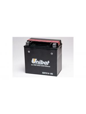 Batteria Moto CBTX14-BS, 12 Ah, 200 A/EN