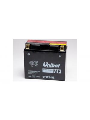 Batterie Moto CT12B-BS, 11 Ah, 180 A/EN, Unibat