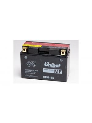 Batteria Moto CT9B-BS, 8 Ah, 120 A/EN Unibat