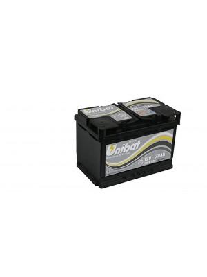 Batteria AGM70 Start Stop AH70  A-EN 760 Marca UNIBAT
